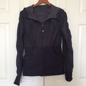 Lululemon dance studio jacket. Gray
